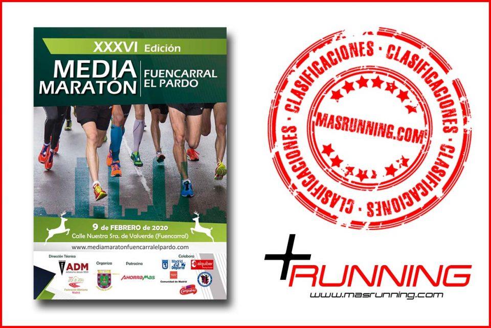Resultados Media Maratón Fuencarral El Pardo 2020