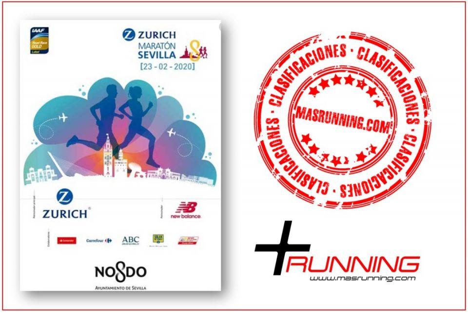 clasificaciones maraton sevilla 2020