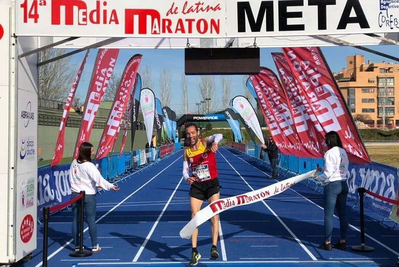 media maraton de latina 2019