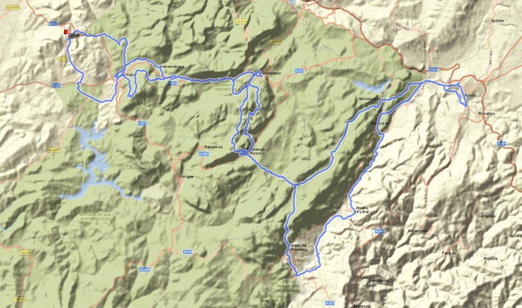 100 Millas Sierras del Bandolero 2019