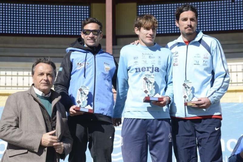 podio media maratón de Torremolinos 2019