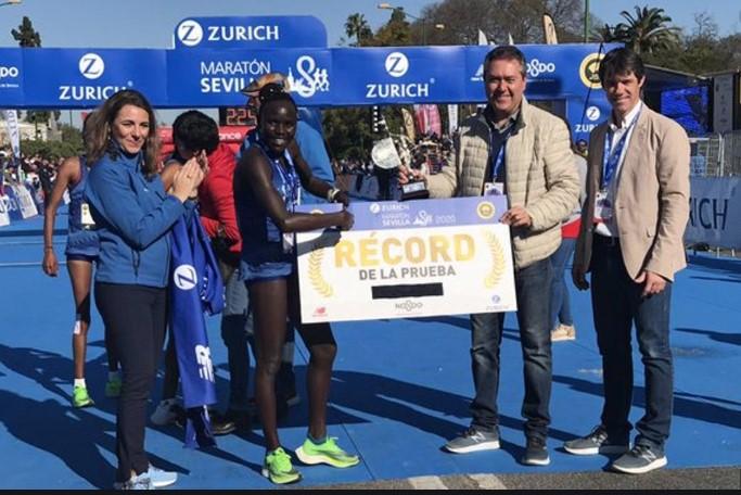record prueba maraton sevilla 2020