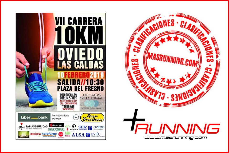 resultados 10 Km Oviedo Las Caldas 2019