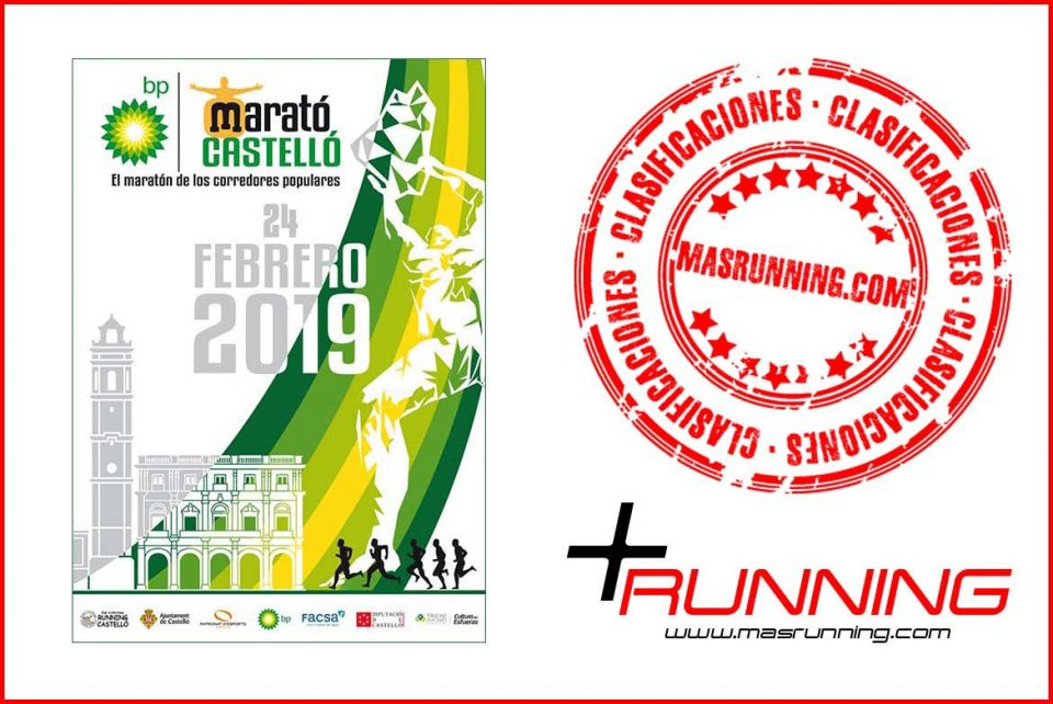 resultados Maratón BP Castellón 2019