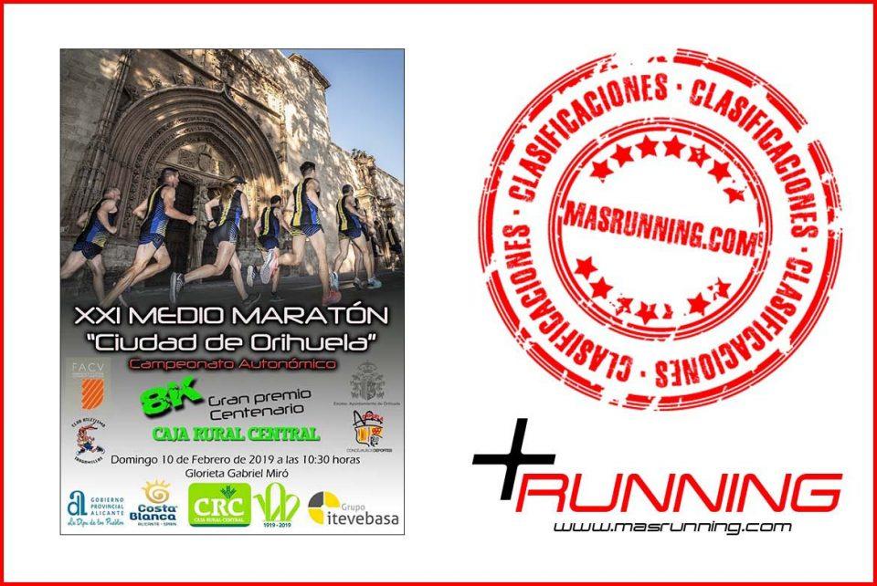 resultados Media Maratón de Orihuela 2019