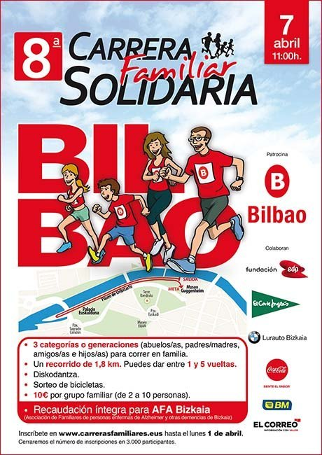 Carrera Familiar Solidaria de Bilbao 2019