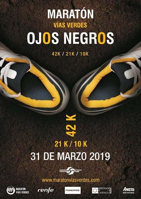 Maraton Vias Verdes Ojos Negros 2019