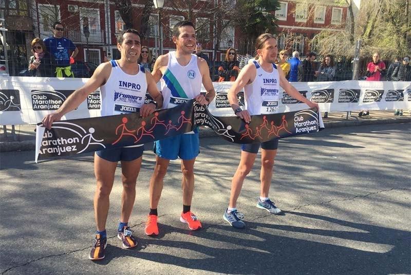 resultados media maratón de aranjuez 2019
