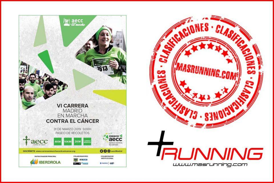 resultados carrera en marcha contra el cancer 2019 madrid