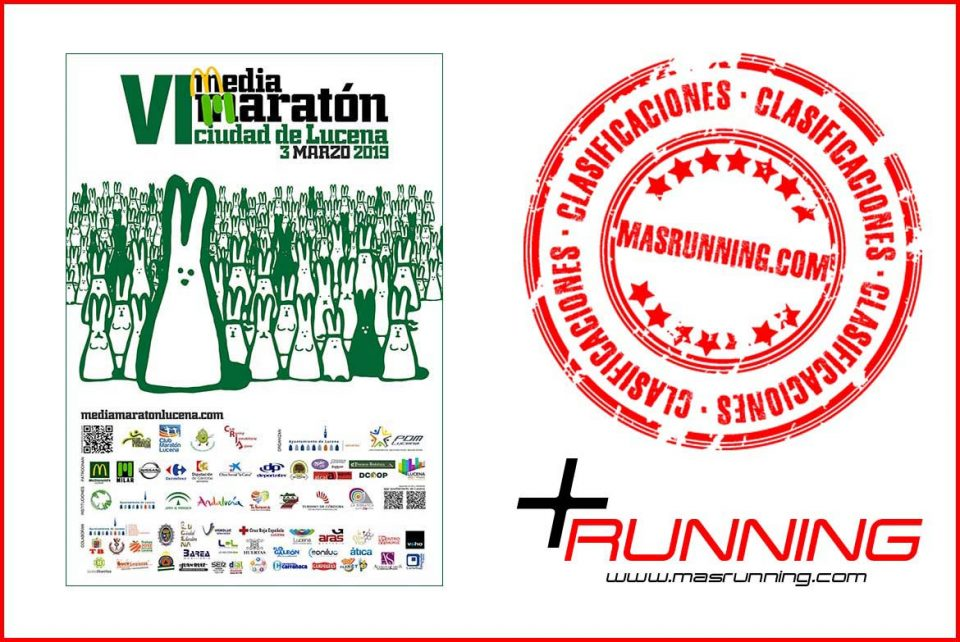 resultados Media Maratón Lucena 2019