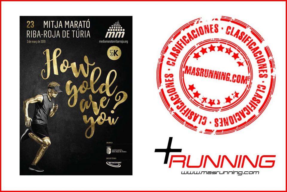 resultados Media Maratón Ribarroja de Turia 2019