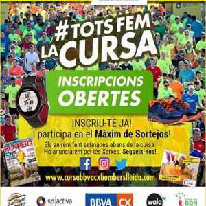 Cursa Bombers Lleida 2019