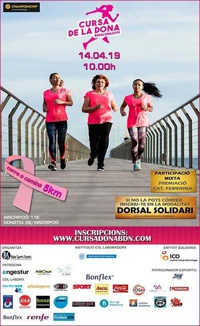 Cursa de la Dona Badalona 2019