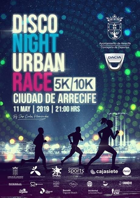 Disco Night Urban Race Arrecife 2019