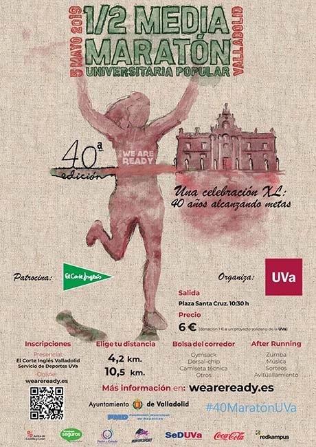 Media Maratón Universitaria Valladolid 2019