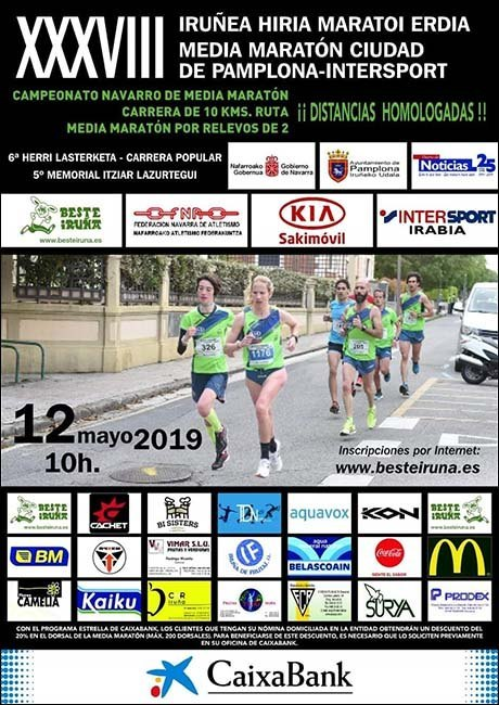 Media Maratón de Pamplona 2019
