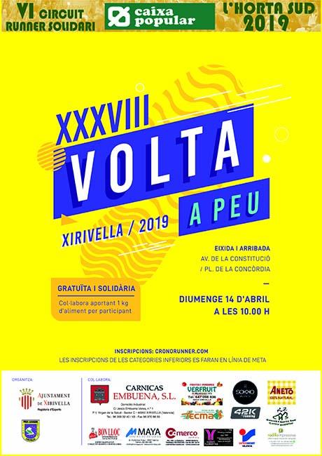 Volta a Peu Xirivella 2019