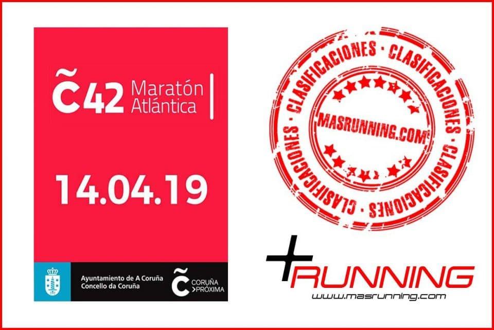 resultados Coruña 42 Maratón Atlántica 2019