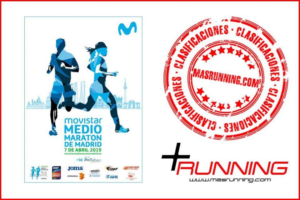 resultados Medio Maratón de Madrid 2019