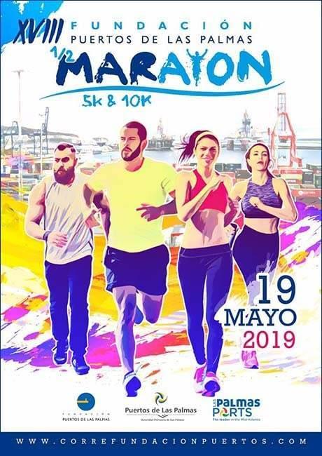 Media Maraton Puertos de Las Palmas 2019