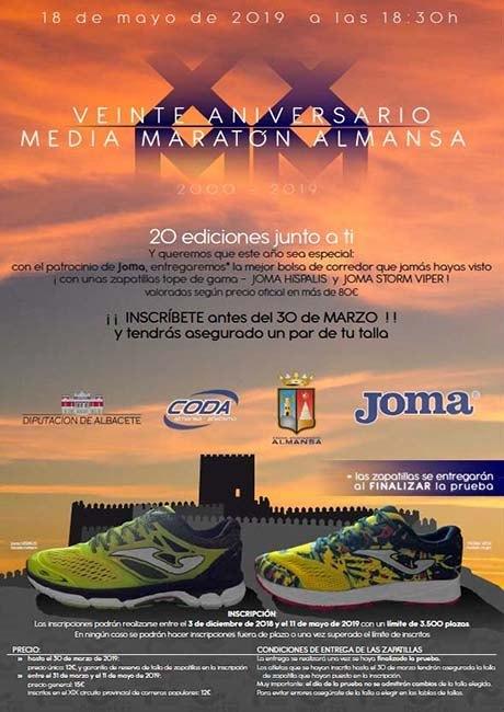 Media Maratón de Almansa 2019