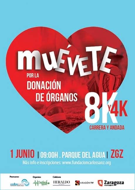Muévete por la donación de órganos 2019