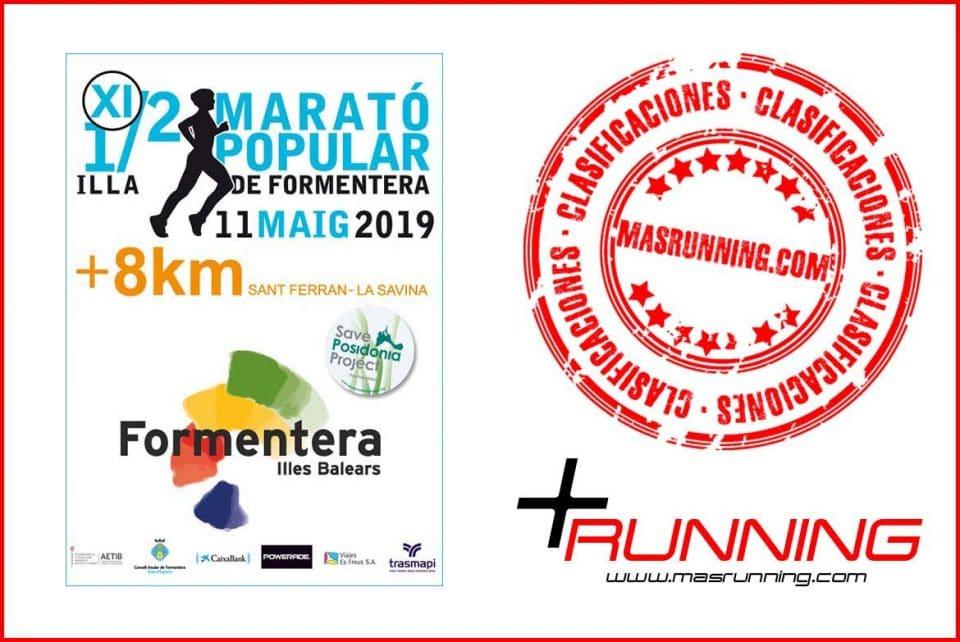 resultados Media Maratón de Formentera 2019