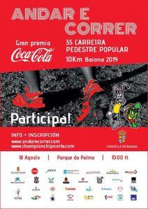 Carreira Pedestre Popular 10 Km de Baiona 2019r