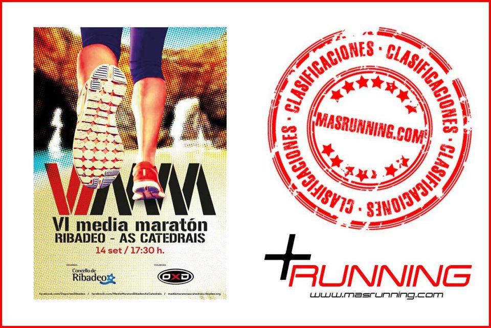 resultados media maratón ribadeo as catedrais 2019