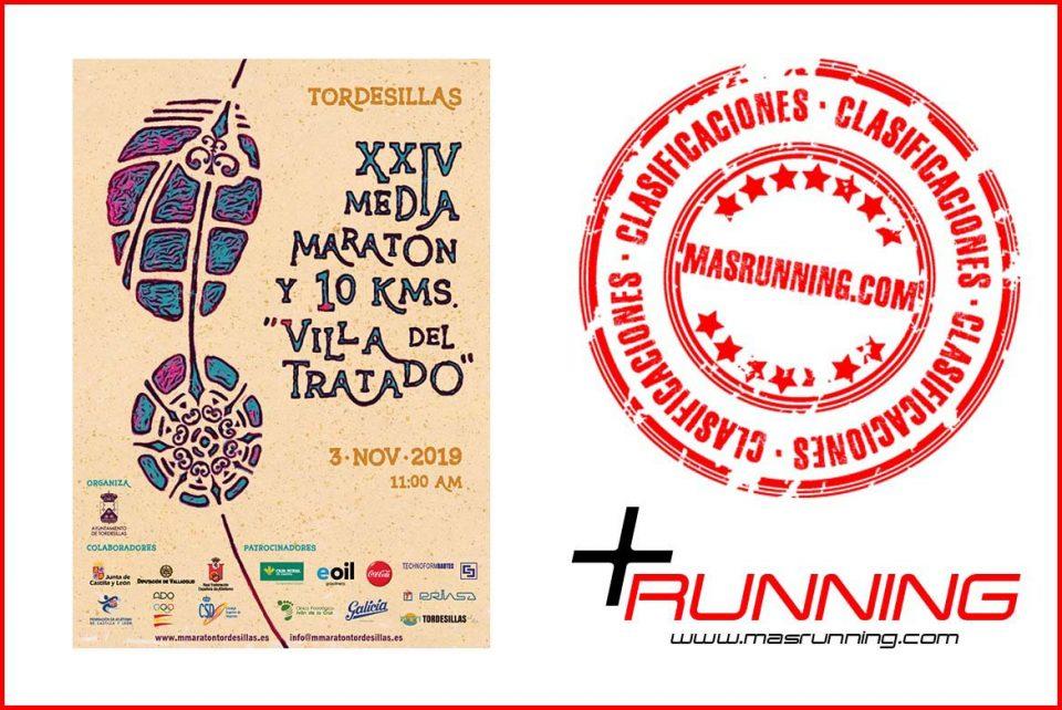 resultados media maraton y 10 km villa del tratado 2019